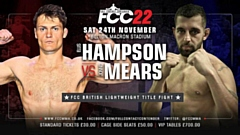 Mears will fight Hampson at Full Contact Contender 22