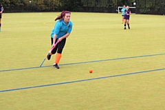 Collinson made forward runs time after time for Rochdale Ladies Hockey