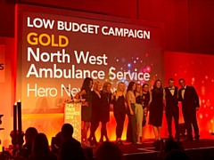 North West Ambulance Service communications team presented with two gold awards at the Chartered Institute of Public Relations PRide Awards 2018
