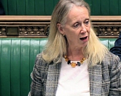 Liz McInnes MP takes petition to save Heywood name to Parliament