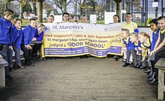 St Margaret�s Church of England Primary School in Heywood are celebrating following a �Good� Ofsted result