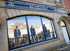 Buckley Menswear, on the historic South Parade, has been shortlisted for a Drapers Independent Award