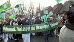 Rochdale Muslims celebrate the birth of Prophet Muhammad in 2018