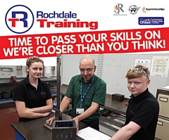 Join Rochdale Training�s campaign to recruit 219 Engineering Apprentices