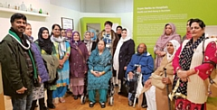Carers, and the relatives they support, at Touchstones Museum