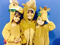 Greenbank Primary perform Humph the Camel