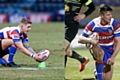 Rochdale Hornets co-captains Danny Yates and Luke Adamson