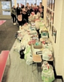 Oulder Hill non-uniform day in support of the Rochdale Foodbank