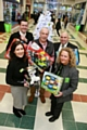 Chris Doige, Lorenzo O�Reilly, Mark Bleasdale, Rachel Byrne and  Yvonne O�Reilly with the giving tree