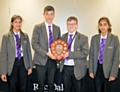 Hollingworth Academy - winners of the Rochdale Sixth Form College annual Maths Challenge