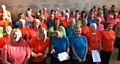 Sing! Littleborough and the Rochdale Carers Choir perform at Manchester Together