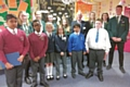 Children from Wardle Academy, St James� CE Primary School, Kentmere Academy and St Andrew�s CE Primary were joined by Councillor Ashley Dearnley