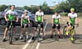 Five employees from GJD and Invisiontook part in the Diss Cyclathon