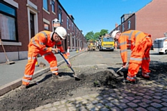 The council will be targeting 955 streets in the pothole repair programme