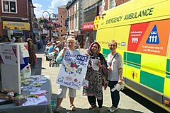 Local Labour Party celebrate NHS 70th Birthday