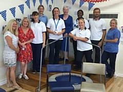 Rochdale Physiotherapy team celebrate 70 years of keeping people active in the NHS