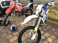 Illegal off-road bikes seized by police last year (file photo)