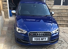 This Audi was stolen during the morning of Thursday (9 August)