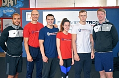 Fitness Academy Tutor - Miles Greenwood, Gary Rothwell, Matthew Royster, Shannon WIlson, Callum Angus and Mike Bruns