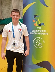 Jake Brearley who was joint fifth in the 2019 Commonwealth Judo Championships representing England