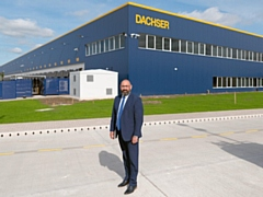 Gary Atkinson, branch manager at Dachser's new premises on Kingsway Business Park