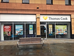 The Thomas Cook high street store at Lord Square, Rochdale