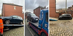 Three cars were seized as well as a large amount of cannabis with a street value of around �20,000 and �5,000 in cash