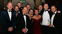 Wireless CCTV picked up two awards - Business of the Year (turnover over �5million) and Skills, Education and Training Employer of the Year