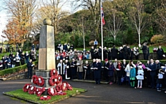 Whitworth turns out for Remembrance Sunday service