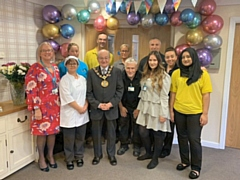 Exemplar Healthcare Management Consultancy and Training Company celebrate 20th Anniversary with a visit from the Mayor Billy Sheerin