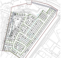 Plans for homes on former Dunlop Cotton Mill site, Countryside Properties Design and Access Statement