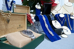 An exquisite collection of new and second-hand jewellery and watches