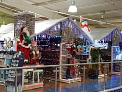 The Range's Christmas displays at the Kingsway store