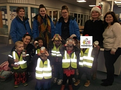 Fisherfield Childcare at the Middleton Foodbank
