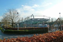 Building Travelodge and KFC at Sandbrook Park
