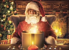 Families will be able to visit Father Christmas at Rochdale Exchange Shopping Centre, Gordon Riggs, Touchstones, Heywood Market and Queen's Park