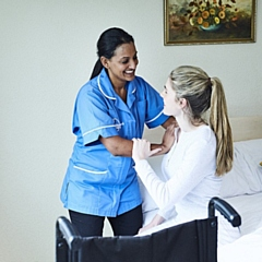 Bluebird Care puts you at the heart of everything they do