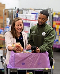 Tesco offers surplus food to local community groups in partnership with FareShare