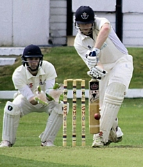 Thornham Cricket Club�s chairman Andrew 'Mickers' Micklethwaite
