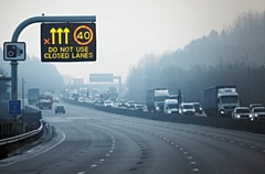 One in 10 drivers ignore red X signs on region's motorways