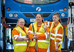 First Bus female bus engineers
