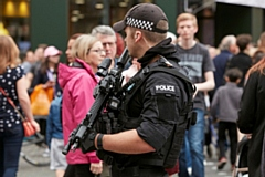 GMP armed officer