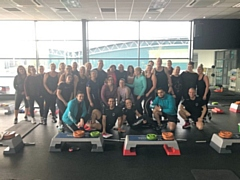 Pure Gym Rochdale raised over �1,000 for Rochdale Children's Moorland Home