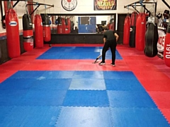 Rochdale Thai Boxing Club after repairs