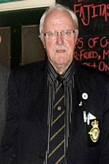 Milnrow Band president, Ken Watts