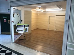 The pop-up space in the Wheatsheaf Shopping Centre