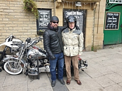 Scores of bikers from across Greater Manchester turned out for John