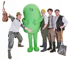 CBeebies Mr Bloom and his band will open the main stage at Rochdale Feel Good Festival
