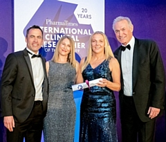 Silver international award for The Royal Oldham research team