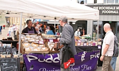 Rochdale Artisan Market returns to The Butts on Saturday 31 August, 10am - 4pm